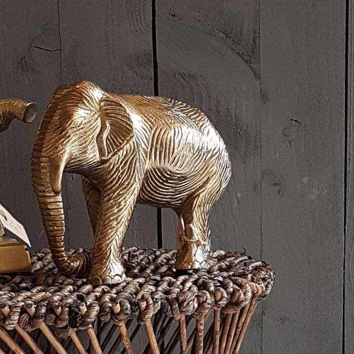 Olifant in messing