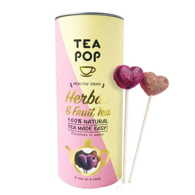 Tea pop Herbal fruits and blends