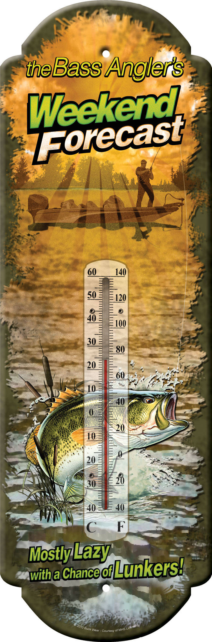 """Thermometer """" Weekend forecast """""""