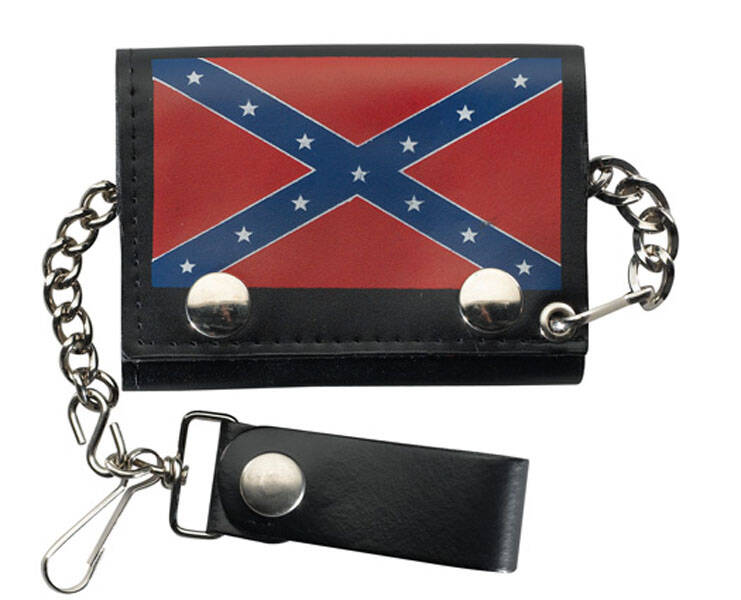 "Biker wallet ""Rebel Flag"""