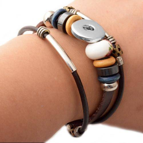 Armband voor snap button