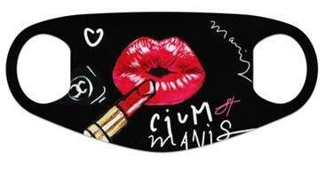 """MOUTH MASK """"LIPS POUT CIUM MANIS"""""""