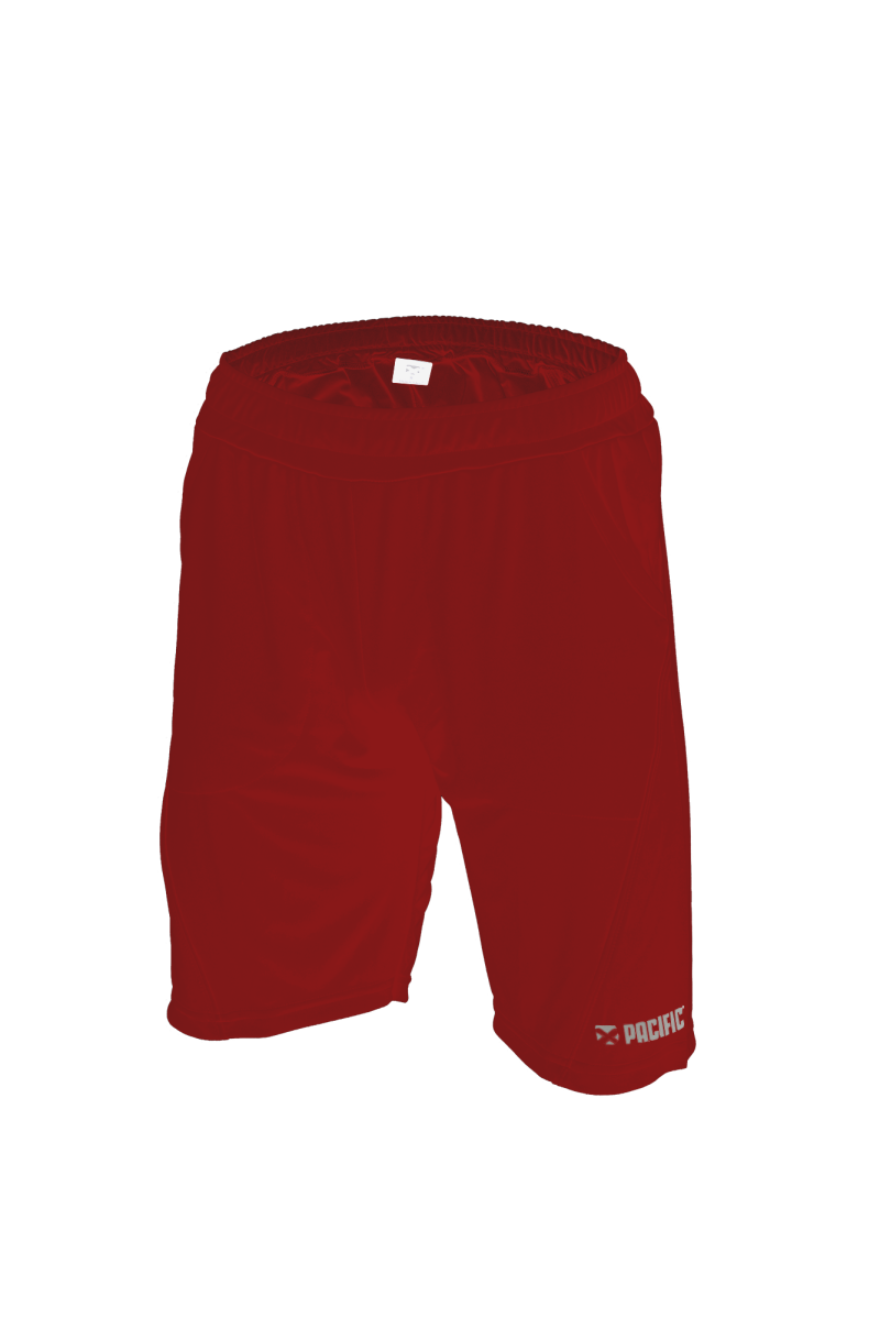 Pacific Short - Red -Silver T544