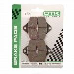 OTK front brake pad set for BSS shifter kart