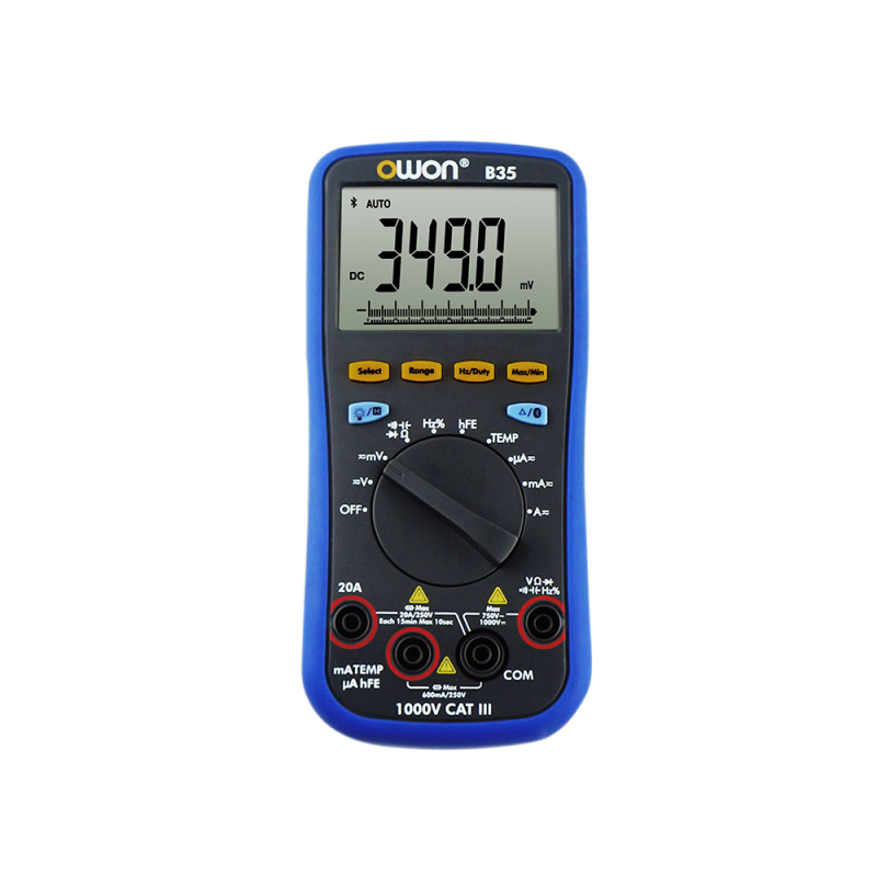OWON B35 3 5/6 Digit Digital Multimeter with Bluetooth