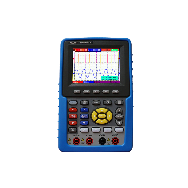 OWON HDS1022M-I 20MHz 2CH handheld DSO with Channel Isolation