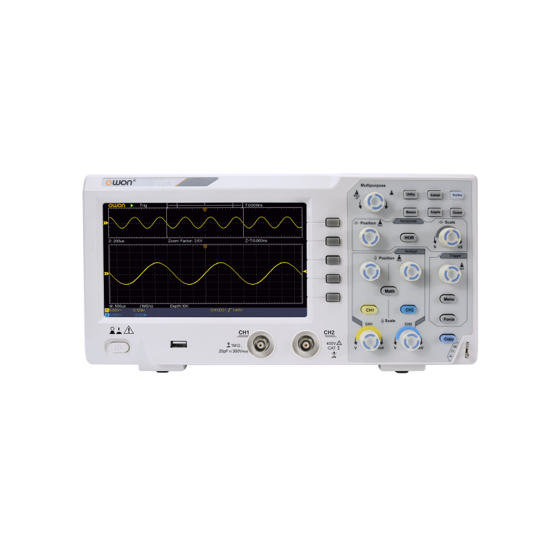 OWON SDS1102 100MHZ 2 Channel Digital Oscilloscope