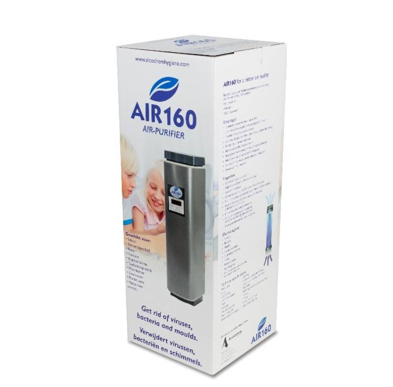AIR 160 Luchtreiniger (incl. Lamp + filter)