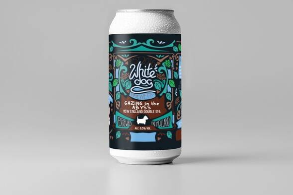 White Dog - Gazing in the abyss - 4Pack!