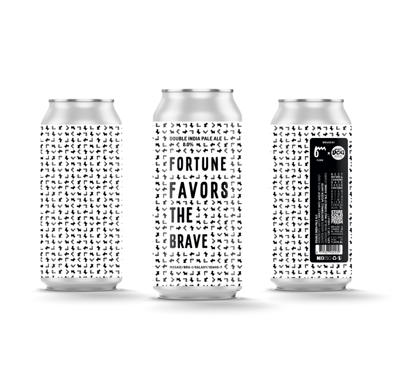 White Dog & Floem | COLLAB 2 | FORTUNE FAVORS THE BRAVE