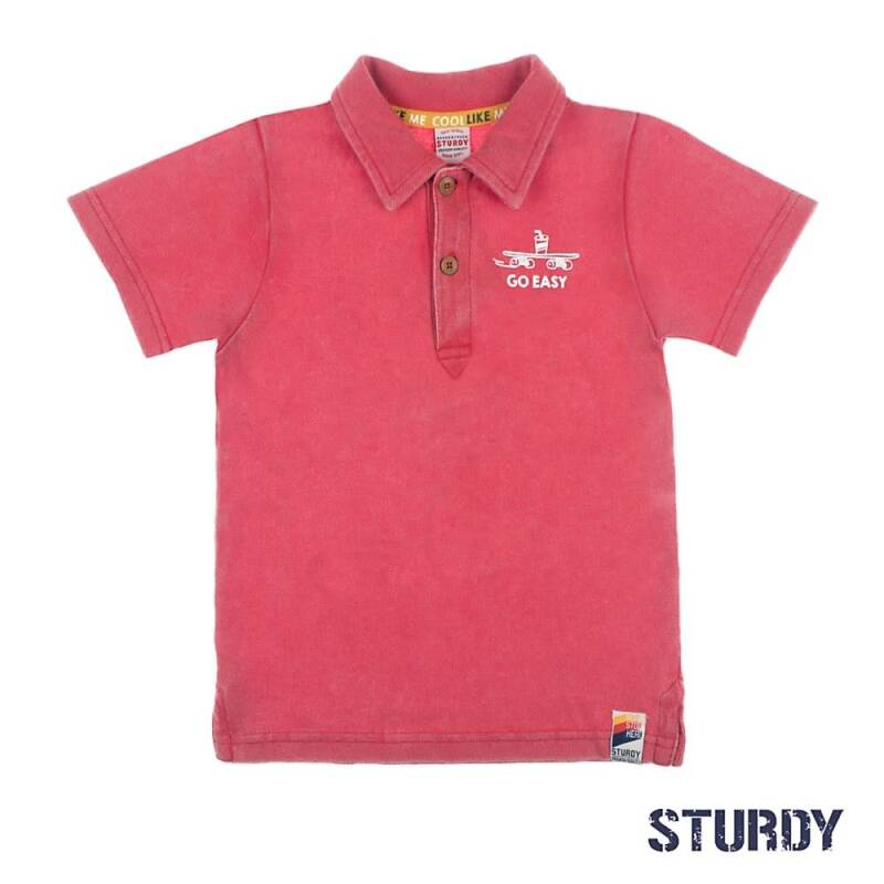 Sturdy polo 71700277 Red