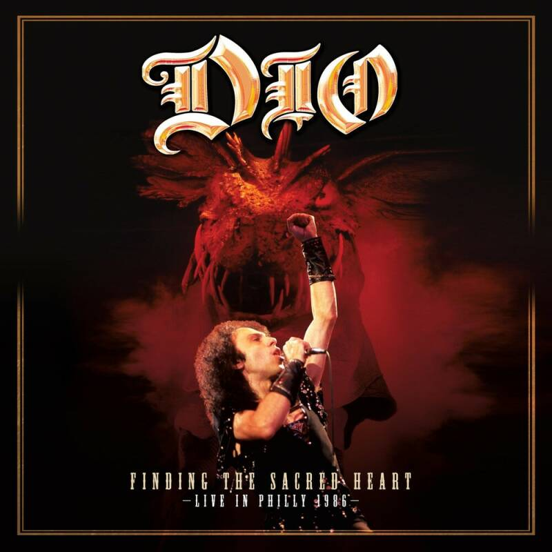 DIO - Finding the sacred heart - 2LP white