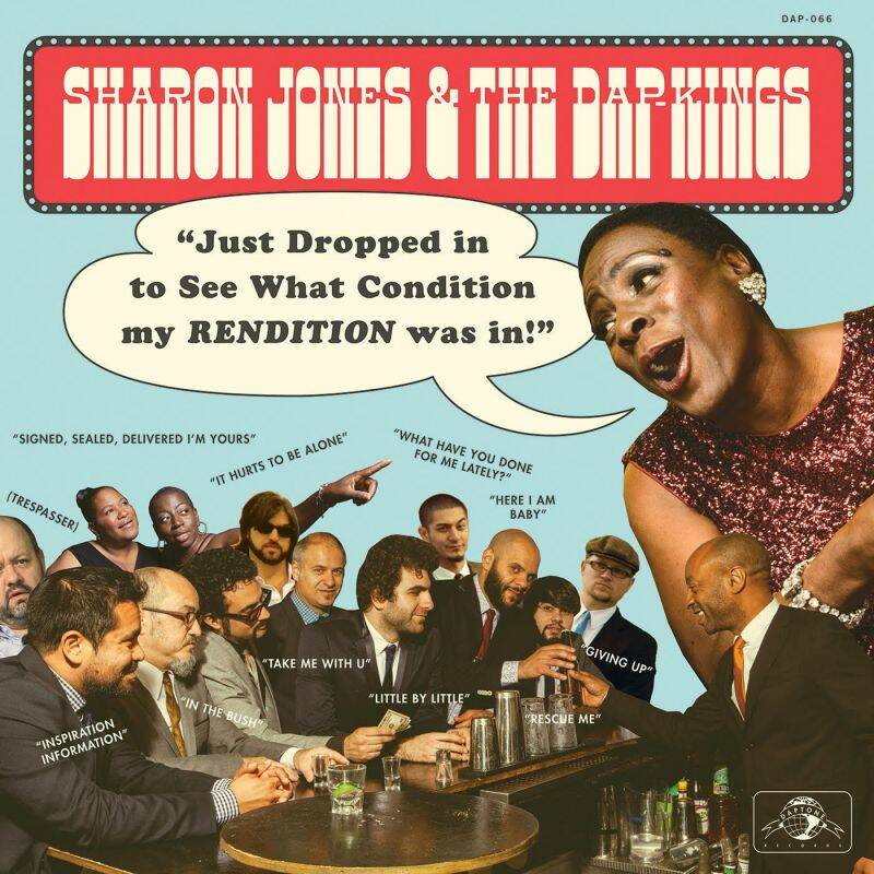Sharon Jones & the Dap-Kings  - Just Dropped in - Op LP en CD