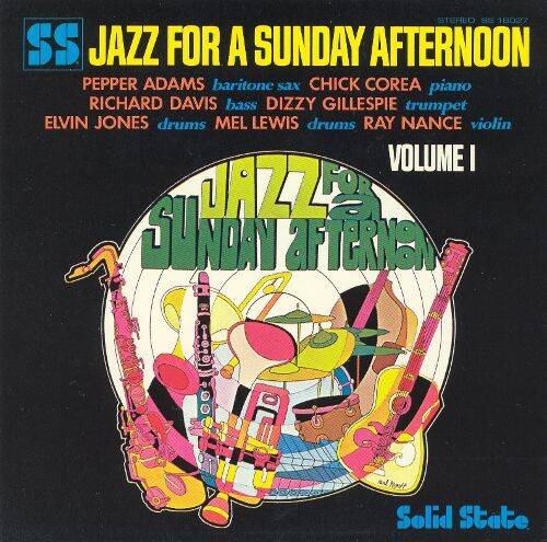 Adams, Pepper - Various ‎– Jazz For A Sunday Afternoon Volume 1
