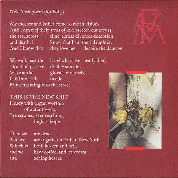 Florence And The Machine ‎– Sky Full Of Song / New York Poem (for Polly)