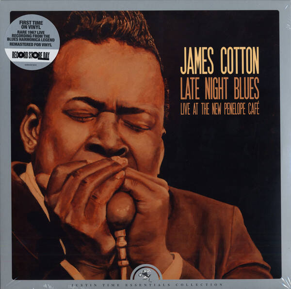 Cotton, James ‎– Late Night Blues (Live at The New Penelope Café)