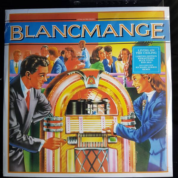 Blancmange ‎– Living On The Ceiling