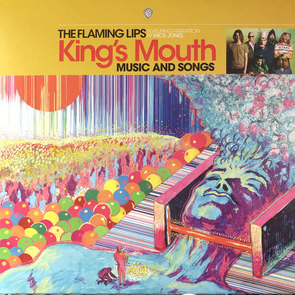 Flaming Lips, the Featuring Narration By Mick Jones ‎– King's Mouth (Music And Songs)