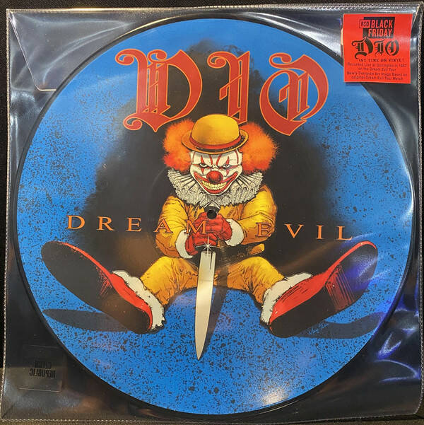 Dio - Dream evil - picture disc