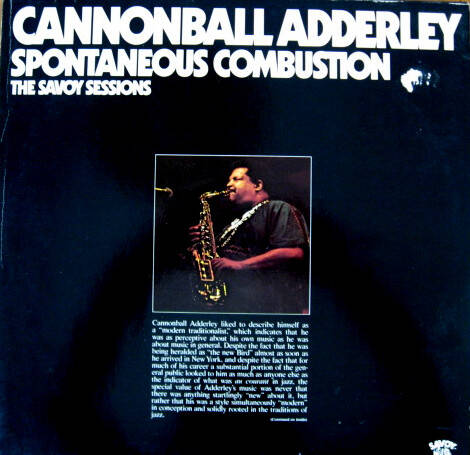 Adderley, Cannonball – Spontaneous Combustion