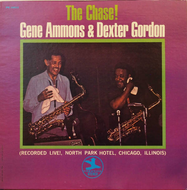 Ammons, Gene & Dexter Gordon ‎– The Chase!
