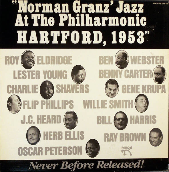 Various ‎– Norman Granz' Jazz At The Philharmonic Hartford, 1953