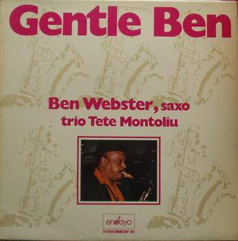 Webster, Ben & Trio Tete Montoliu ‎– Gentle Ben