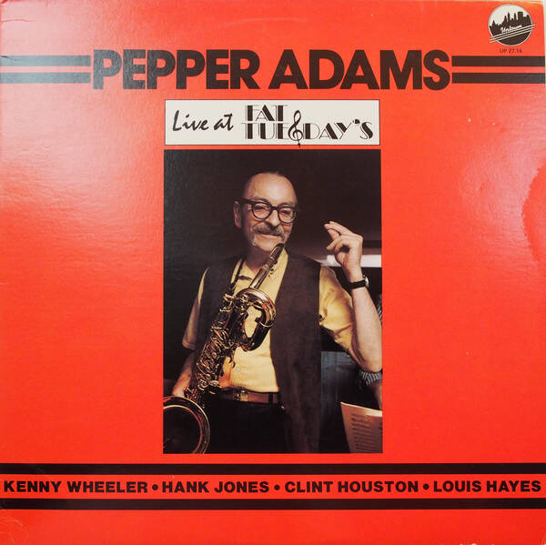 Adams, Pepper ‎– Live At Fat Tuesday's