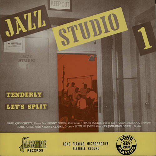 Quinichette, Paul, Benny Green, Frank Foster, Joseph Newman, Hank Jones, Kenny Clarke, Edward Jones, Sir Jonathan Gasser ‎– Jazz Studio 1