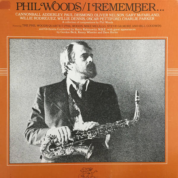Woods, Phil ‎– I Remember...