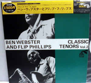 Webster, Ben and Flip Phillips ‎– Classic Tenors, Vol.2