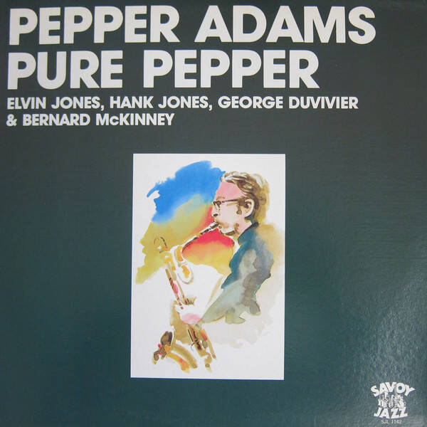 Adams, Pepper ‎– Pure Pepper