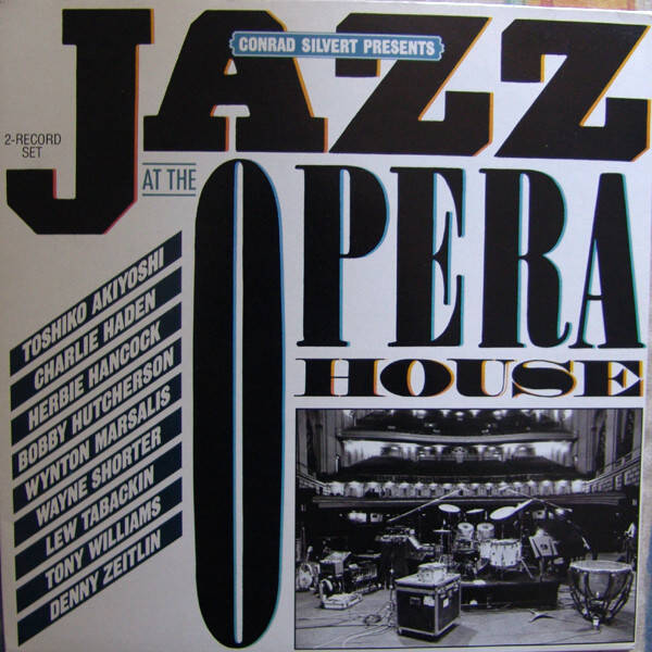 Various ‎– Conrad Silvert Presents Jazz At The Opera House