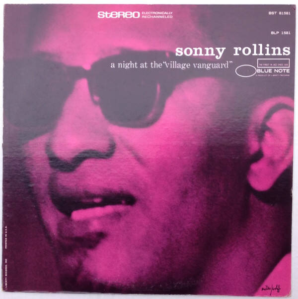 """Rollins, Sonny – A Night At The """"Village Vanguard"""""""