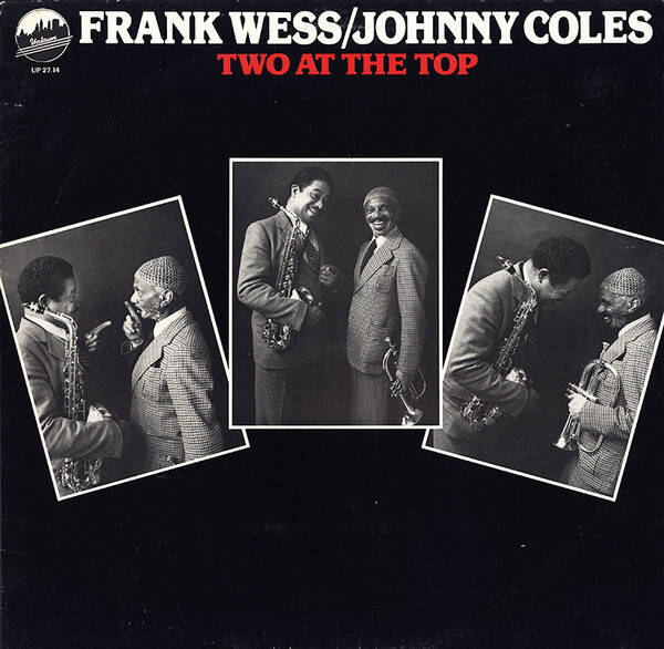 Wess, Frank / Johnny Coles ‎– Two At The Top