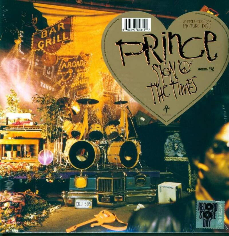 Prince - The sign of the times - Picture Disc Limited Ed.