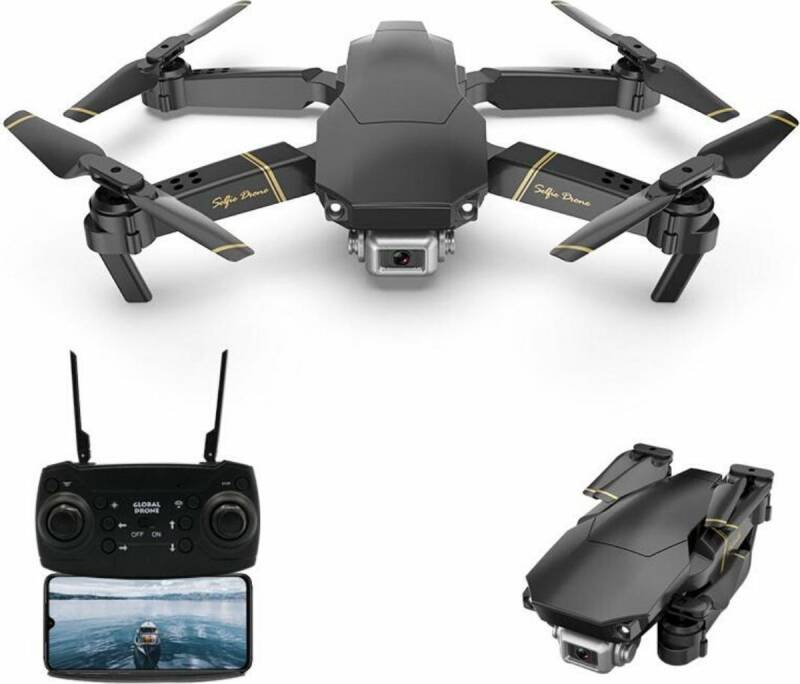 Pocket drone met Camera - Pro uitvoering - Full HD Dual Camera - Wifi FPV - Foto - Video - Quadcopter