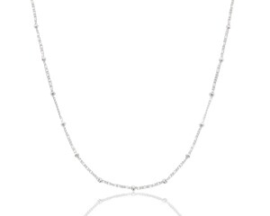 Ketting dots zilver