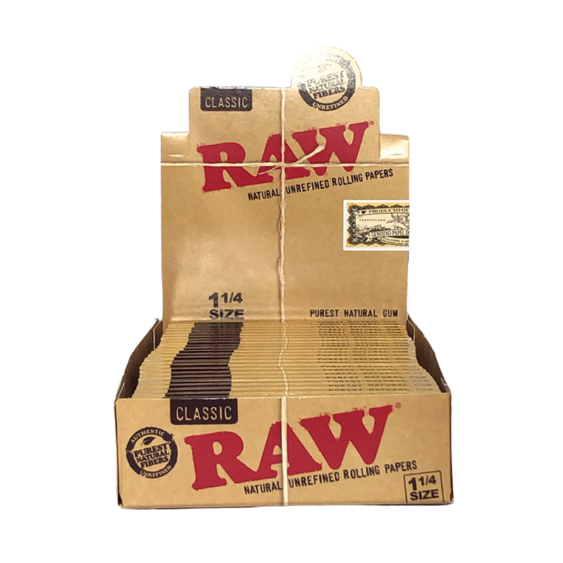 RAW® 1 1/4 Classic Box Rolling Papers