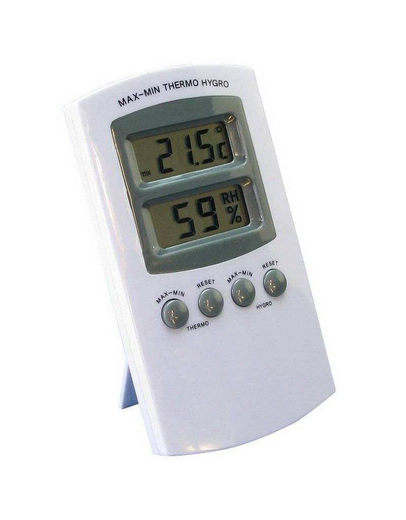 Thermo / Hygrometer Digitaal