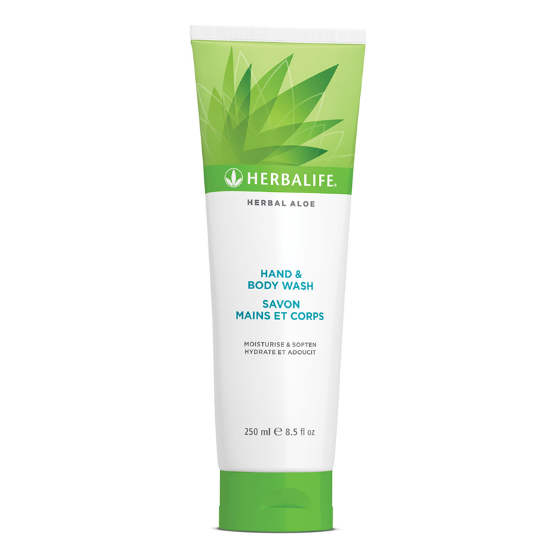 Herbalife Herbal Aloë Hand en Body Wash 250 mL