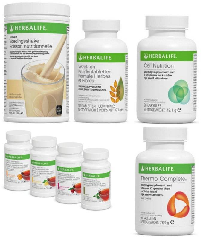 Herbalife ultimate programma