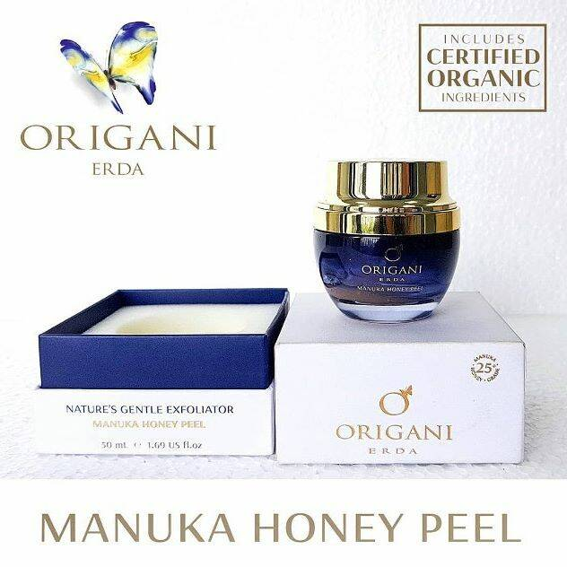 Manuka honey peel