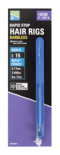 """MSS RIG - 4"""" RAPID STOP-KKM-Barbless"""