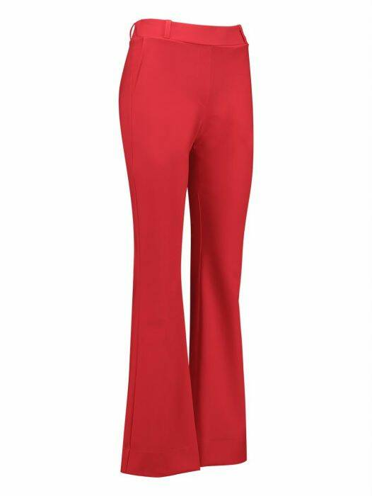 Flair bonded trousers - Rood