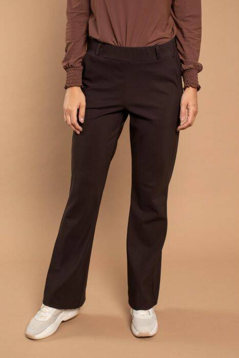 Flair bonded trousers - Coffee brown