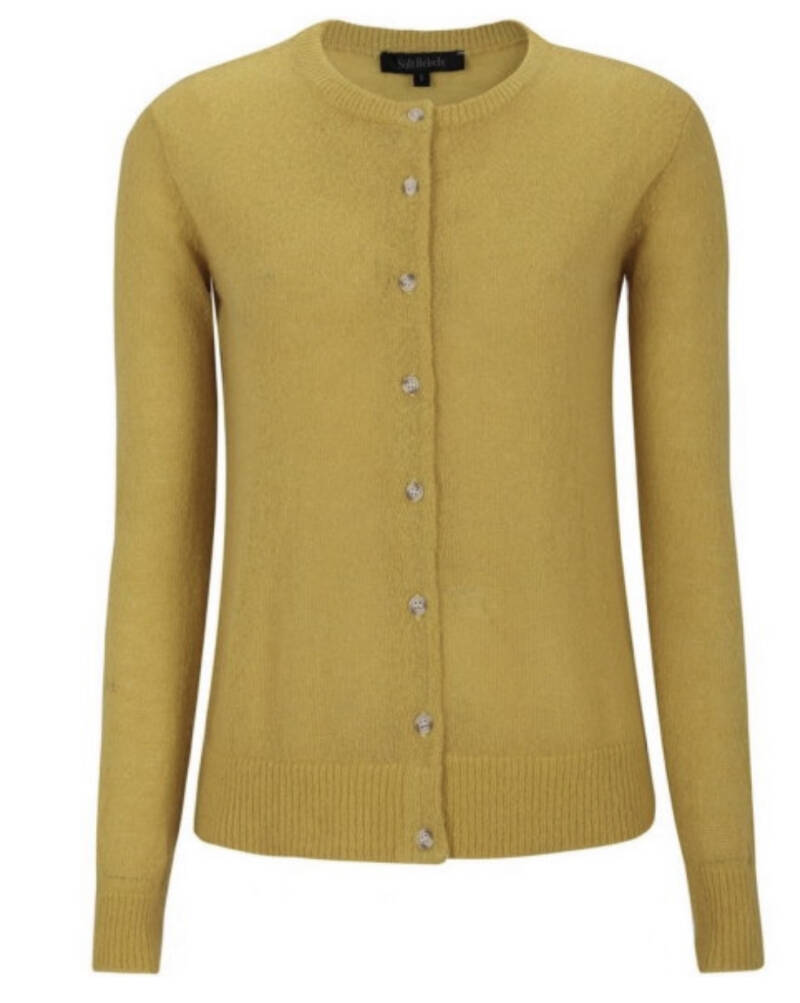 Soft Rebels cardigan knit Yellow laatste maat L