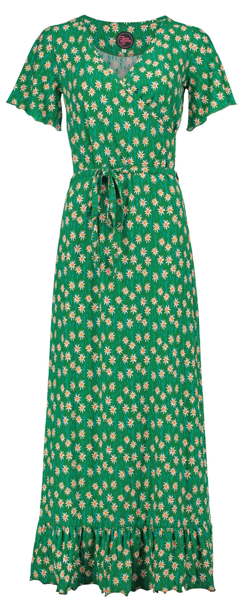 HIPPIE DRESS LONG EDELWEISS GREEN