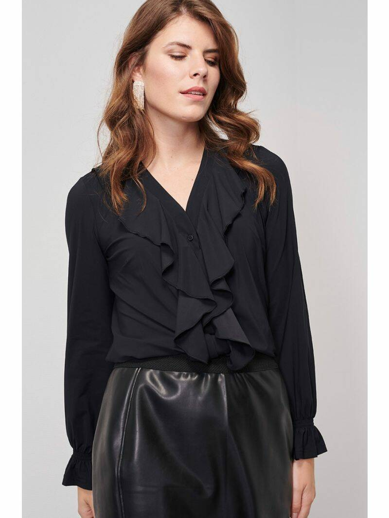 Worcester ruffle blouse