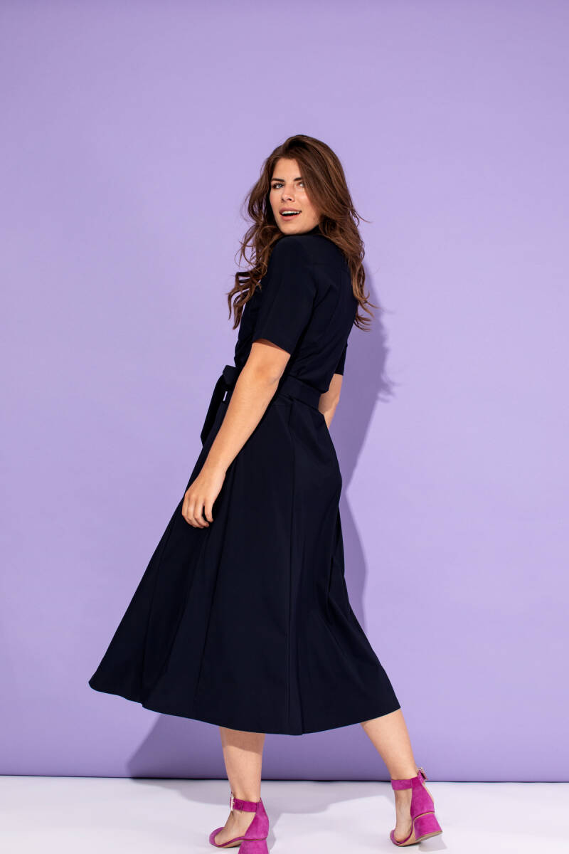 Studio Anneloes Cindy SS Dress Dark Blue